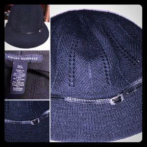 Banana Republic Black Knit Hat